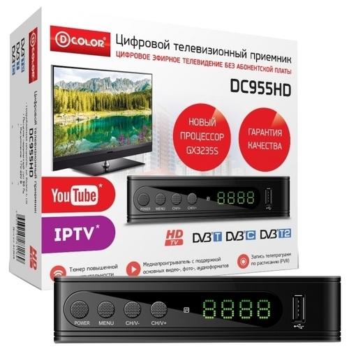 TV-тюнер D-COLOR DC955HD