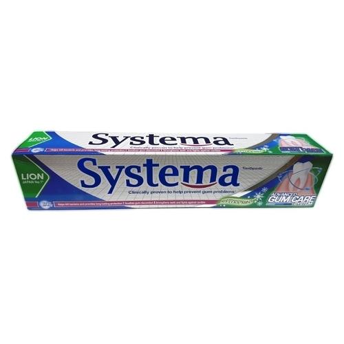 Зубная паста Lion Systema Прохладная Ледяная мята