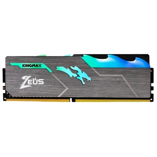 Оперативная память 8 ГБ 1 шт. Kingmax Zeus Dragon DDR4 RGB DDR4 3200 DIMM 8Gb