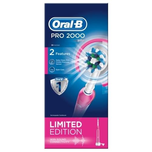 Электрическая зубная щетка Oral-B Pro 2000