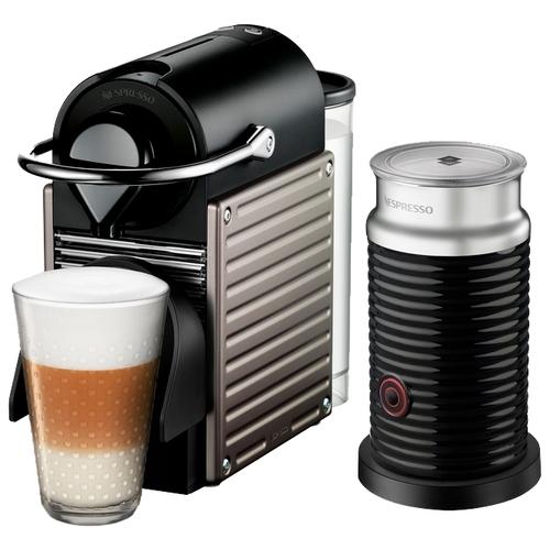 Кофемашина Nespresso C60 Pixie Aeroccino