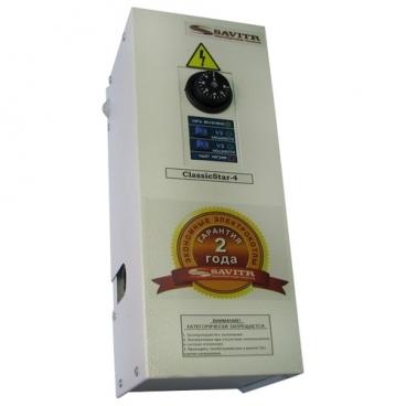 Электрический котел Savitr Classic 4Plus 4 кВт одноконтурный