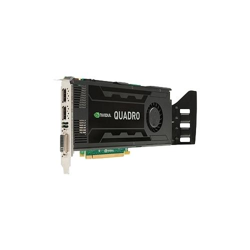 Видеокарта HP Quadro K4000 PCI-E 2.0 3072Mb 192 bit DVI