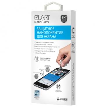 Жидкое покрытие Elari Nanoglass для экранов любых форм и размеров (для 1 смартфона)