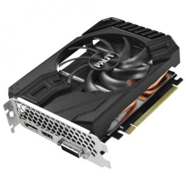 Видеокарта Palit GeForce GTX 1660 1530MHz PCI-E 3.0 6144MB 8000MHz 192 bit DVI HDMI HDCP StormX OC