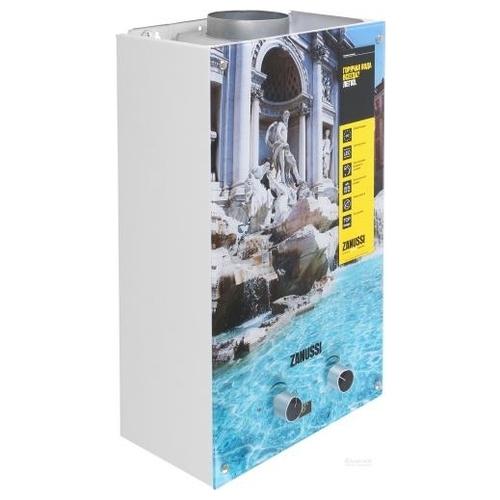 Проточный газовый водонагреватель Zanussi GWH 10 Fonte Glass Trevi