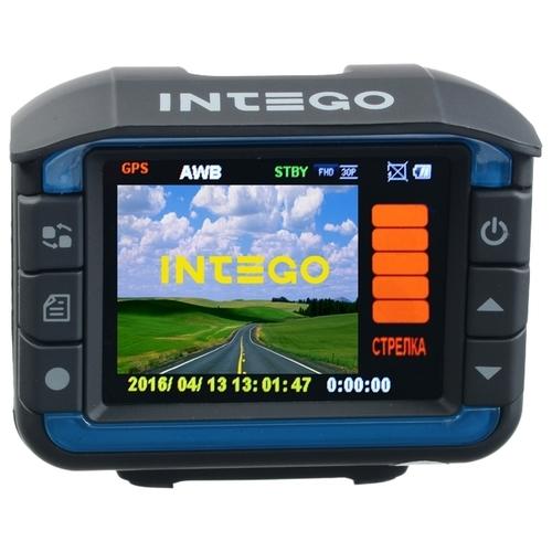 Видеорегистратор с радар-детектором Intego Colt