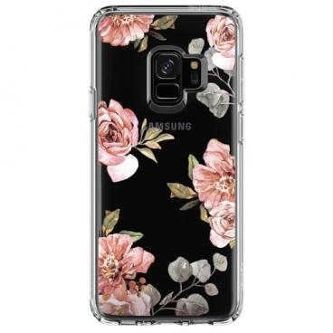 Чехол Spigen Liquid Crystal Blossom для Samsung Galaxy S9