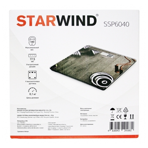 Весы STARWIND SSP6040