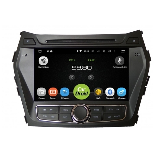 Автомагнитола ROXIMO CarDroid RD-2009 Hyundai SantaFe 3 (Android 8.0)