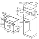 Электрический духовой шкаф Bosch HBT457UB0