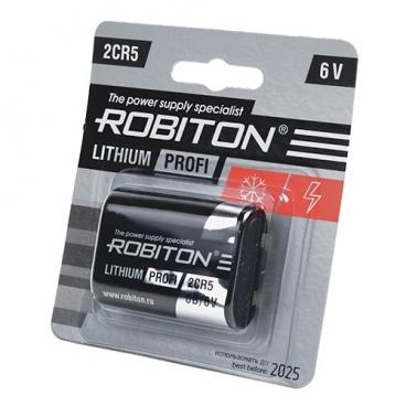 Батарейка ROBITON Lithium Profi 2CR5