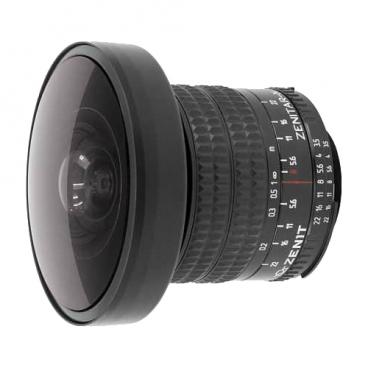 Объектив Зенит Зенитар-N 8mm f/3.5