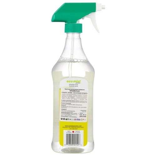Средство для очистки кухонных поверхностей Kitchen plus Eco mist