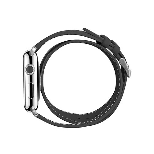 Cozistyle Double Tour Leather Band for Apple Watch 42/44mm