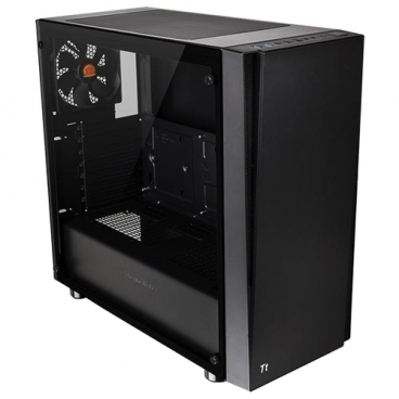 Компьютерный корпус Thermaltake Versa J21 TG (CA-1K1-00M1WN-00) Black