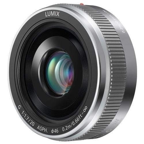 Объектив Panasonic 20mm f/1.7 II Aspherical (H-H020AE)