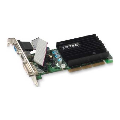 Видеокарта ZOTAC GeForce 6200 350Mhz AGP 256Mb 533Mhz 64 bit DVI TV
