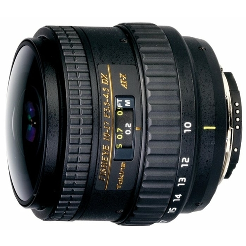 "Объектив Tokina AT-X 10-17mm f/3.5-4.5 (AT-X 107) AF DX NH Fisheye Nikon F"""