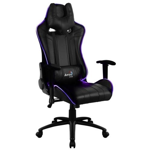 Компьютерное кресло AeroCool AC120 AIR RGB игровое