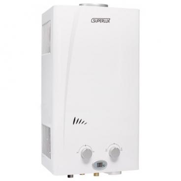 Проточный газовый водонагреватель SUPERLUX 10L CF NG