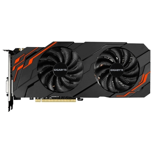 Видеокарта GIGABYTE GeForce GTX 1070 1582MHz PCI-E 3.0 8192MB 8008MHz 256 bit DVI HDMI HDCP WINDFORCE OC rev. 2.0