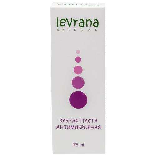 Зубная паста Levrana Антимикробная, с лавандой и магнолией