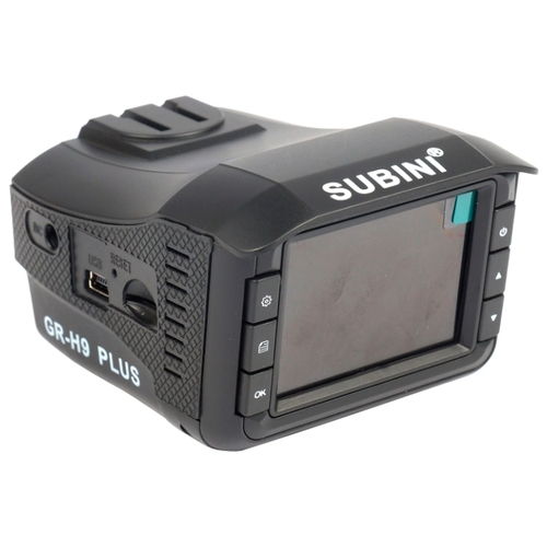 Видеорегистратор с радар-детектором Subini GR-H9 PLUS