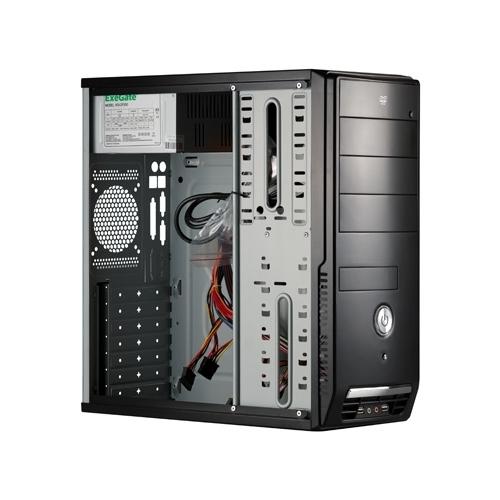 Компьютерный корпус ExeGate CP-501 450W Black