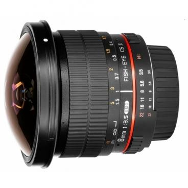 """Объектив Samyang 8mm f/3.5 UMC Fish-eye CS II Pentax KA/KAF/KAF2"""""""