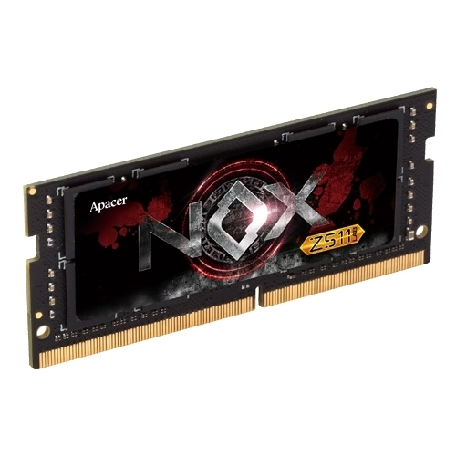 Оперативная память 8 ГБ 1 шт. Apacer NOX DDR4 2400 SO-DIMM 8GB