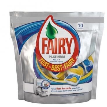 Fairy Platinum All in 1 капсулы для посудомоечной машины