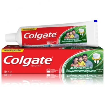 Зубная паста Colgate Максимальная защита от кариеса Двойная мята