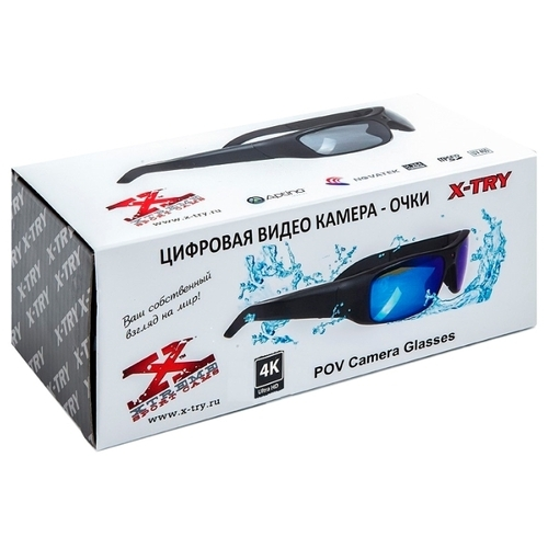 Экшн-камера X-TRY XTG370 ULTRA HD Original Black
