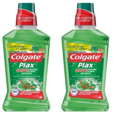 Colgate PLAX Форте Кора дуба и Пихта для десен ополаскиватель полости рта