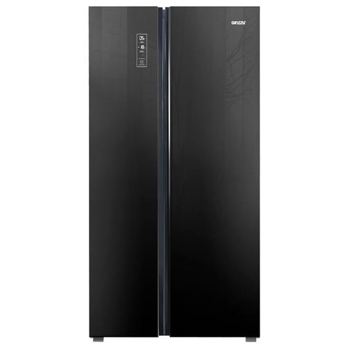 Холодильник Ginzzu NFK-530 Black glass