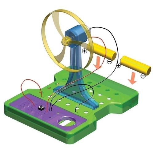 Набор Step puzzle Конструируем с Фиксиками. Фикси-вентилятор (76154)