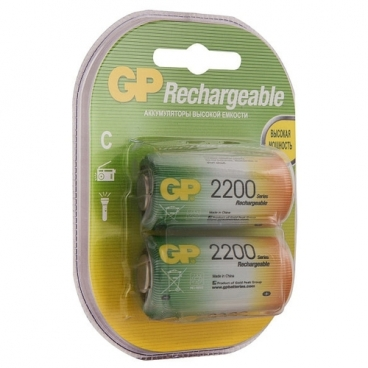 Аккумулятор 2200 мА·ч GP Rechargeable 2200 Series C