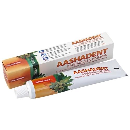 Зубная паста Aasha Herbals Кардамон - Имбирь