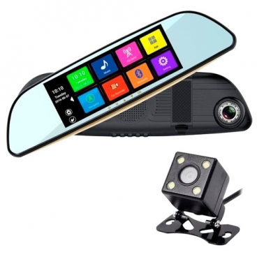 Видеорегистратор XPX ZX837, 2 камеры, GPS