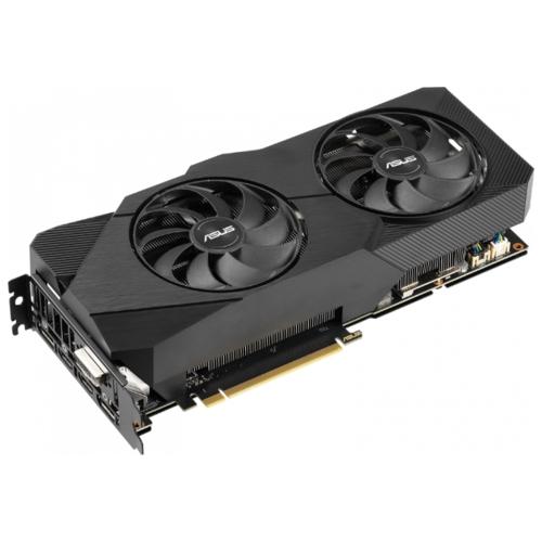 Видеокарта ASUS DUAL GeForce RTX 2060 SUPER 1470MHz PCI-E 3.0 8192MB 14000MHz 256 bit DVI 2xDisplayPort 2xHDMI HDCP EVO
