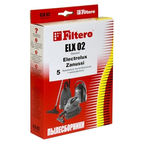 Filtero Мешки-пылесборники ELX 02 Standard
