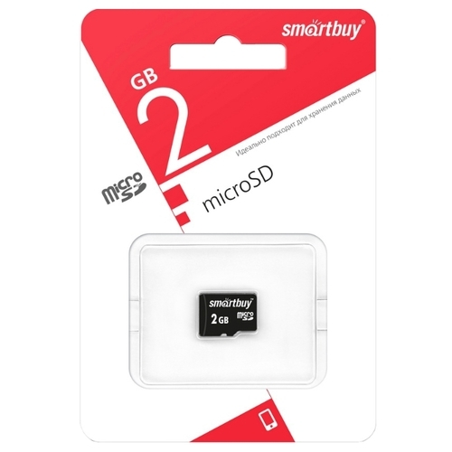 Карта памяти SmartBuy microSD 2GB