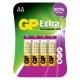 Батарейка GP Extra Alkaline AA