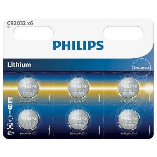 Батарейка Philips Lithium CR2032