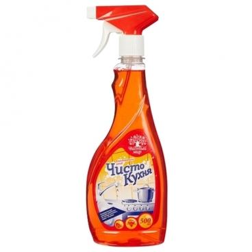 Специальный моющий спрей Чисто кухня Чистый Мир