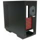 Компьютерный корпус IN WIN 509 (BXR148) w/o PSU Black/red