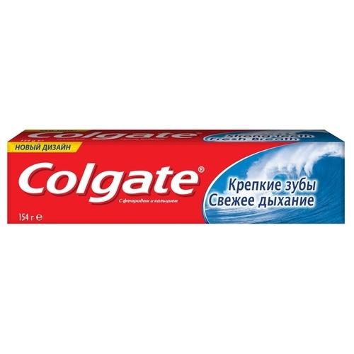 Зубная паста Colgate Крепкие зубы Свежее дыхание, мята