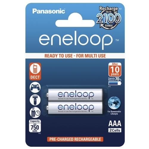 Аккумулятор Ni-Mh 750 мА·ч Panasonic eneloop AAA