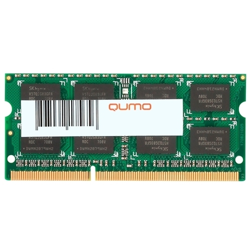 Оперативная память 4 ГБ 1 шт. Qumo QUM3S-4G1600K11